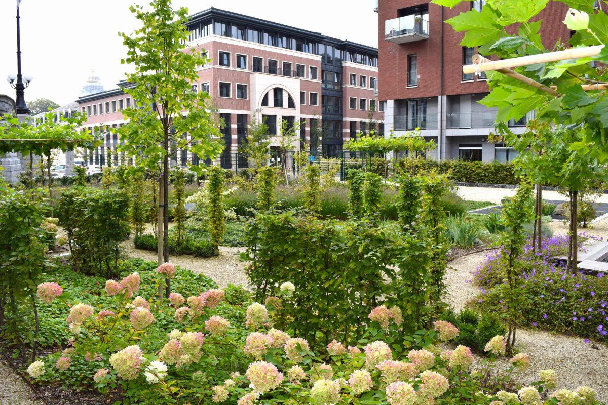 Devall e nathalie architecte paysagiste passacaille for Architecte de jardin bruxelles